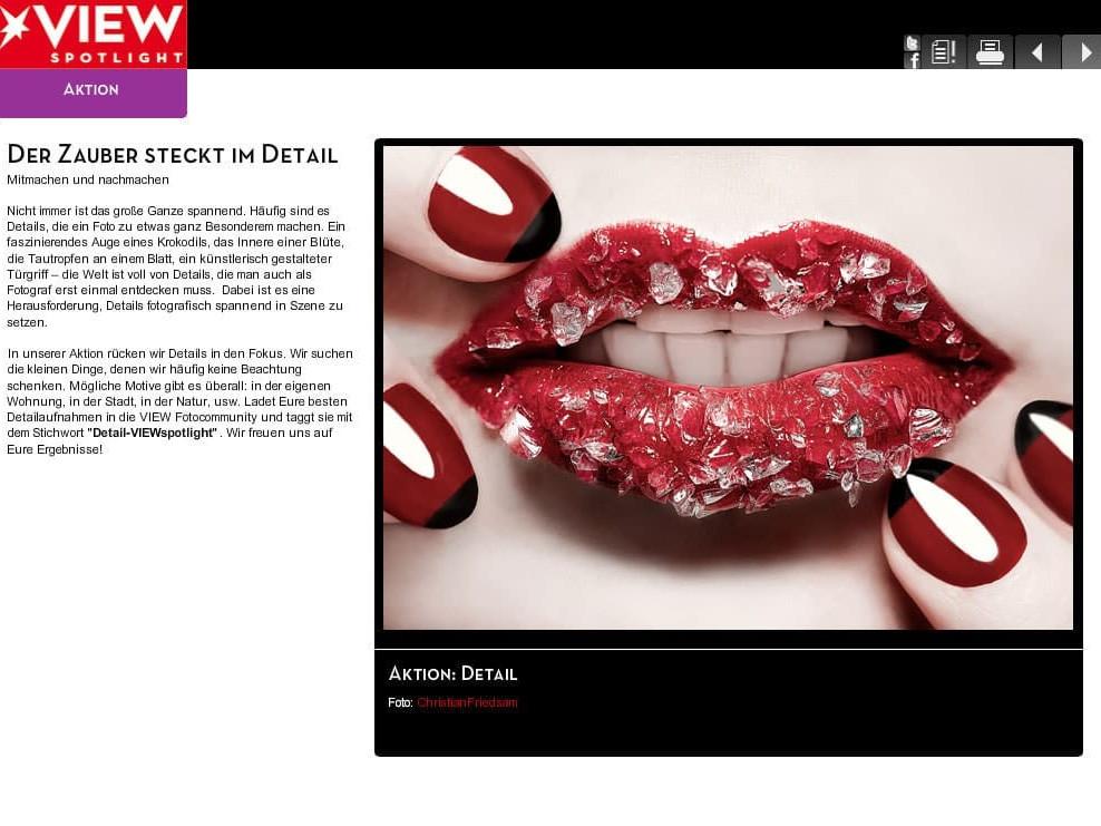 Red Lips VIEWspotlight
