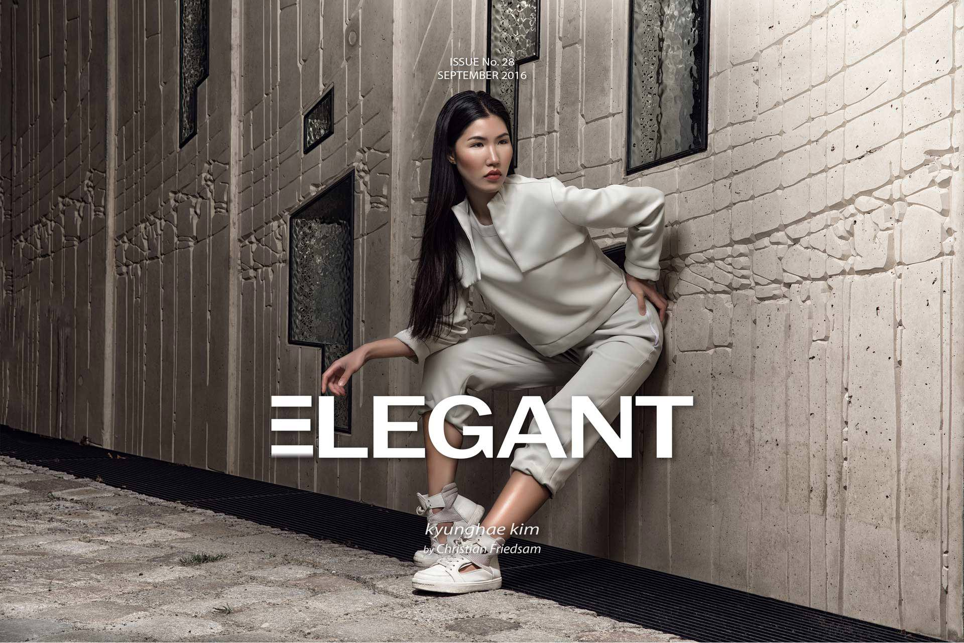 ELEGANT Cover September 2016 Fashion