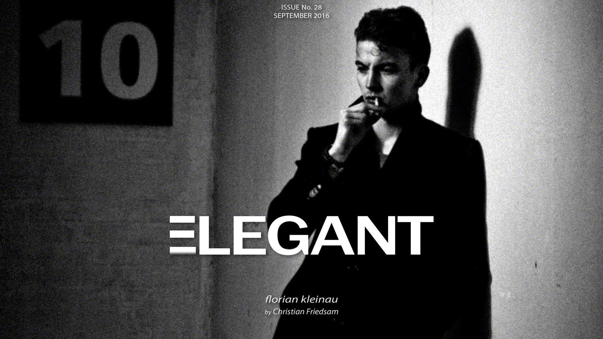 ELEGANT Cover September 2016 Men