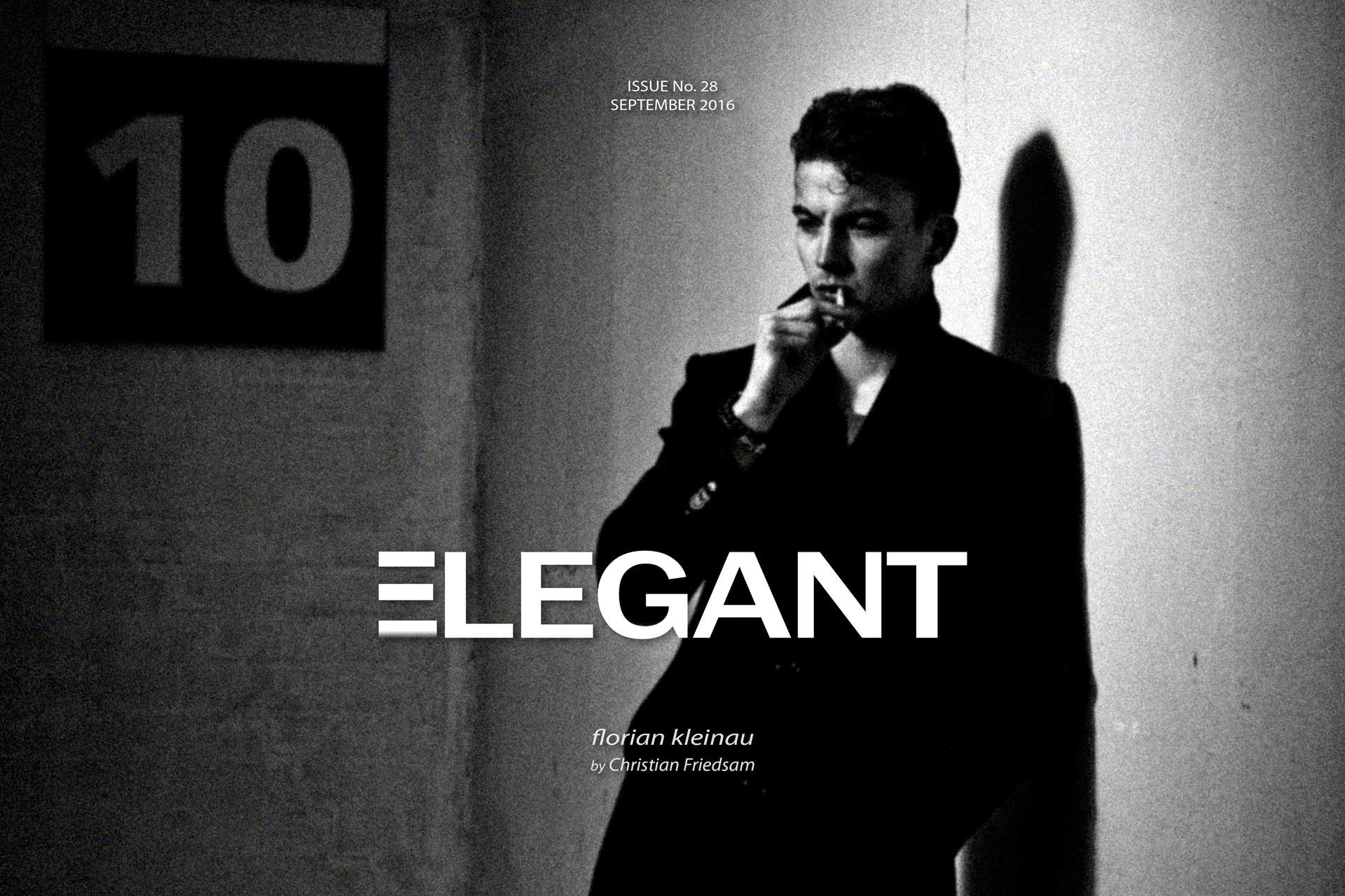 ELEGANT Cover September 2016 Men