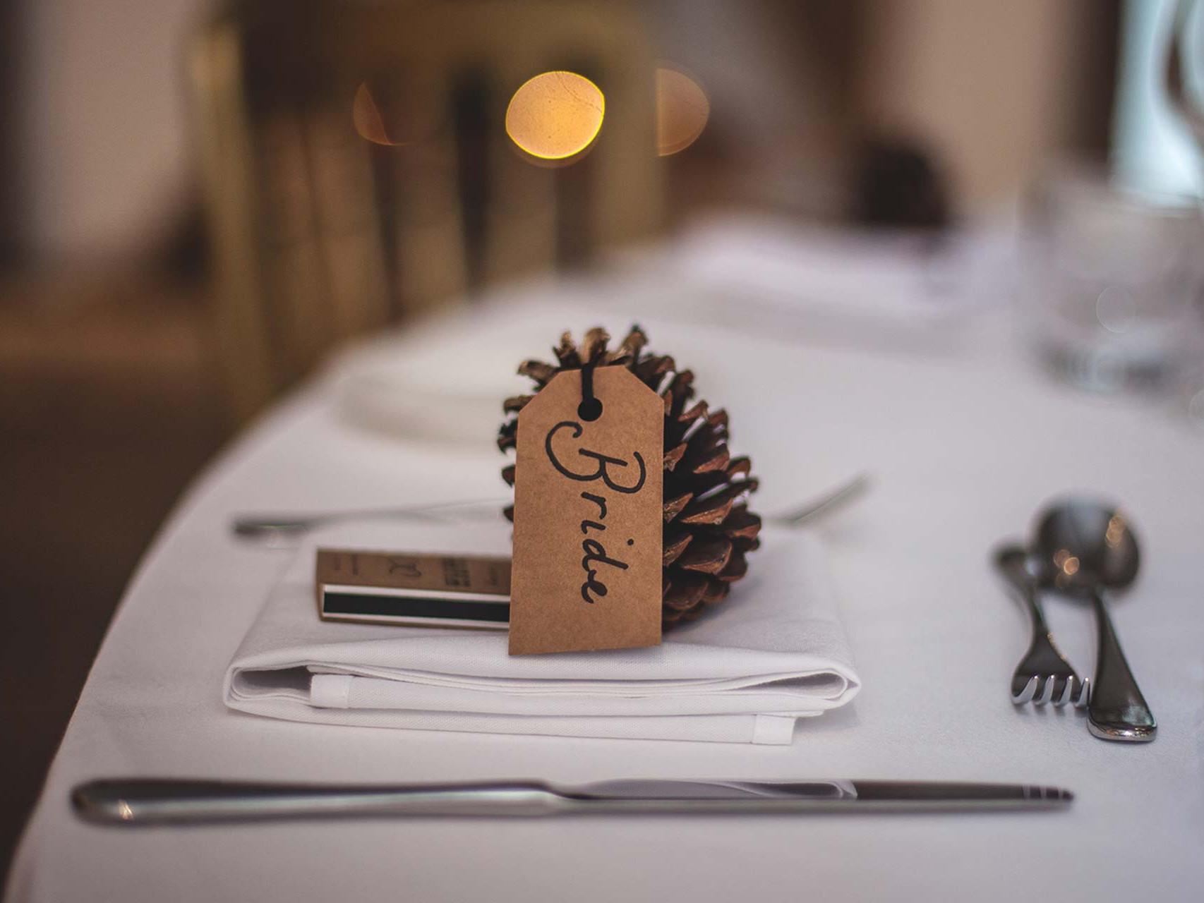 Wedding Table Bride