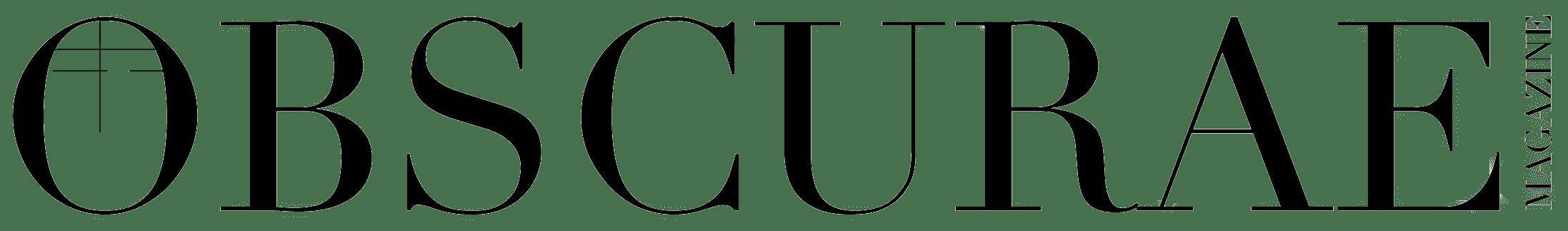 Logo OBSCURAE Black