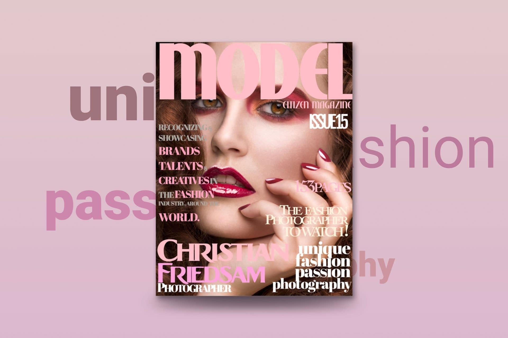 Model Citizen Magazine Issue 15 Cover